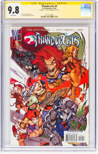 Thundercats #0 Signature Series (DC/Wildstorm, 2002) CGC NM/MT 9.8 White pages