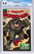 Silver Age (1956-1969):Superhero, The Amazing Spider-Man #41 (Marvel, 1966) CGC NM 9.4 Off-whitepages....