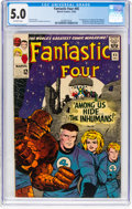 Silver Age (1956-1969):Superhero, Fantastic Four #45 (Marvel, 1965) CGC VG/FN 5.0 Off-white pages....