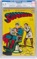 Golden Age (1938-1955):Superhero, Superman #38 (DC, 1946) CGC FN+ 6.5 Off-white pages....