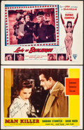 """Movie Posters:Romance, The Other Love & Other Lot (Favorite Attractions, R-1953) Very Fine-. Autographed Lobby Cards (2) (11"""" X 14""""). Reissue Title... (Total: 2 Items)"""