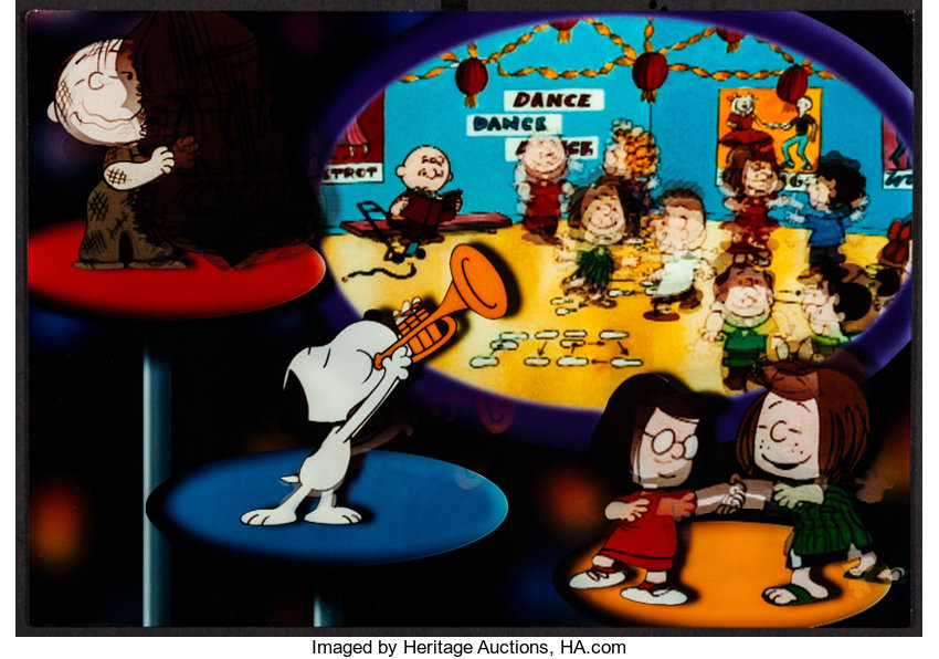 Happy New Year Charlie Brown Cbs 1986 Very Fine Universal Lot 52019 Heritage Auctions