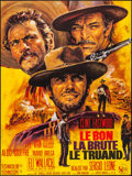 """Movie Posters:Western, The Good, the Bad and the Ugly (United Artists, R-1970s) Folded, Very Fine/Near Mint. French Grande (45.75"""" X 61"""") Jean Masc..."""