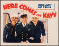 """Movie Posters:Comedy, Here Comes the Navy (Warner Brothers, 1934) Very Fine+. Lobby Card(11"""" X 14""""). Comedy...."""