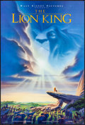 """Movie Posters:Animation, The Lion King (Buena Vista, 1994) Rolled, Very Fine-. Mini Poster(18.25"""" X 27""""). John Alvin Artwork. Animation...."""