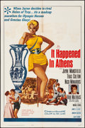 """Movie Posters:Comedy, It Happened in Athens (20th Century Fox, 1962). Folded, Fine/Very Fine. One Sheet (27"""" X 41""""). Comedy...."""