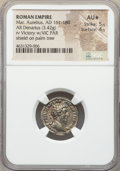Ancients:Roman Imperial, Ancients: Marcus Aurelius (AD 161-180). AR denarius (19mm, 3.42 gm,6h). NGC AU★ 5/5 - 4/5. ...