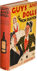 Books:Mystery & Detective Fiction, Damon Runyon. Guys and Dolls. New York: Frederick A. Stokes,1931. First edition, presumed advance or review copy wi...
