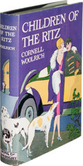 Books:Mystery & Detective Fiction, Cornell Woolrich. Children of the Ritz. New York: Boni &Liveright, 1927. First edition....