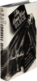 Books:Mystery & Detective Fiction, Cornell Woolrich. The Bride Wore Black. New York: Simon andSchuster, 1940. First edition, i...