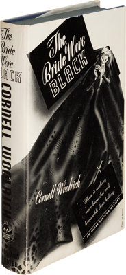 Cornell Woolrich. The Bride Wore Black. New York: Simon and Schuster, 1940. First edition, i