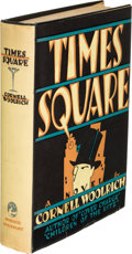 Books:Mystery & Detective Fiction, Cornell Woolrich. Times Square. New York: Horace Liveright, 1929. First edition....