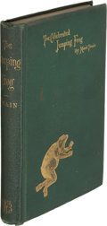 Books:Mystery & Detective Fiction, Mark Twain. The Celebrated Jumping Frog of C...