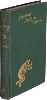 Mark Twain. The Celebrated Jumping Frog of Calaveras County, and Other Sketches. Edited by J