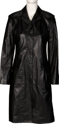 Whitney Houston Personally Owned and Screen Worn Versace Istante Leather Jacket (1999)
