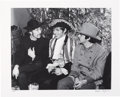 Music Memorabilia:Photos, [Beatles]. John Lennon, Georgie Fame and Paul McCartney Limited Edition Black and White Photo by Bruce Fleming (1967)....