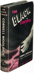 Books:Mystery & Detective Fiction, Cornell Woolrich. The Black Curtain. New York: 1941. Firstedition, gray cloth binding variant....