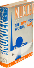 Books:Mystery & Detective Fiction, [Phoebe Atwood Taylor]. Murder at the New York World's Fair. By Freeman Dana (pseudonym). New York: [1938]. First ed...
