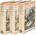Books:Mystery & Detective Fiction, Melville Davisson Post. Monsieur Jonquelle. New York: 1923. First editions, three variants, in two states of text an... (Total: 3 Items)