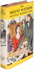 Books:Mystery & Detective Fiction, Melville Davisson Post. The Silent Witness. New York: [1930]. First edition....