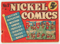 Golden Age (1938-1955):Miscellaneous, Nickel Comics #1 (Dell, 1938) Condition: GD....