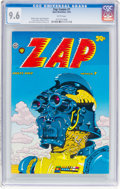 Bronze Age (1970-1979):Alternative/Underground, Zap Comix #7 (Apex Novelties, 1974) CGC NM+ 9.6 White pages....