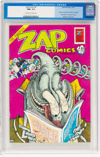 Zap Comix #6 (Apex Novelties, 1973) CGC NM+ 9.6 Off-white to white pages