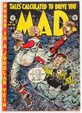 Golden Age (1938-1955):Humor, MAD #2 (EC, 1952) Condition: GD/VG....