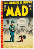 Golden Age (1938-1955):Humor, MAD #3 (EC, 1953) Condition: VG/FN....