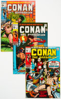Bronze Age (1970-1979):Adventure, Conan the Barbarian Group of 26 (Marvel, 1970-74) Condition: Average VG/FN.... (Total: 26 Comic Books)