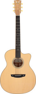 Musical Instruments:Acoustic Guitars, 2008 Goodall MCJC Natural Acoustic Guitar, Serial # 2023....