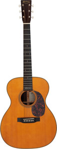 Musical Instruments:Acoustic Guitars, 2008 Martin 000-28EC Natural Acoustic Guitar, Serial # 1305055....