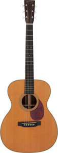 Musical Instruments:Acoustic Guitars, 1998 Martin OM-28VR Natural Acoustic Guitar, Serial # 653205....