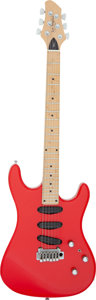 Musical Instruments:Electric Guitars, Circa 1993 Patrick James Eggle L.A. Red Solid Body Electric Guitar, Serial # 5/93 448....