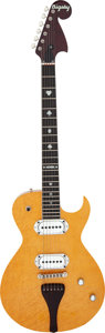 Musical Instruments:Electric Guitars, 2008 Bigsby BY-48NR Natural Solid Body Electric Guitar, Serial # 01000134-70.. ...