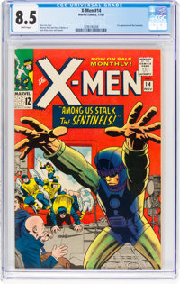X-Men #14 (Marvel, 1965) CGC VF+ 8.5 White pages