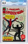 Silver Age (1956-1969):Superhero, The Amazing Spider-Man #3 (Marvel, 1963) CGC VG+ 4.5 Off-white to white pages....