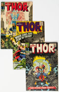 Silver Age (1956-1969):Superhero, Thor Group of 37 (Marvel, 1966-75) Condition: Average GD+.... (Total: 37 Comic Books)