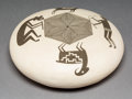 American Indian Art:Pottery, An Acoma Black-On-White Seed JarCharmae Shields Natsew...