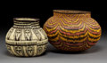 American Indian Art:Baskets, Two Panamanian Basketry Jars... (Total: 2 Items)