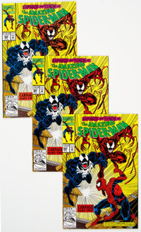 The Amazing Spider-Man #362 Group of 27 (Marvel, 1992) Condition: Average NM.... (Total: 27 Comic Books)