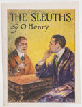 Books:Mystery & Detective Fiction, O. Henry. [Miniature Book]. The Sleuths. New York: 1914.First separate edition (?) with copyright certificate....