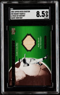 Baseball Cards:Singles (1970-Now), 2001 Upper Deck Ovation Mickey Mantle A Piece of History Bat Relic Card #MM SGC NM/MT+ 8.5. ...