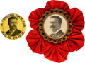 Political:Pinback Buttons (1896-present), Theodore Roosevelt: Two Picture Pins.... (Total: 2 Items)
