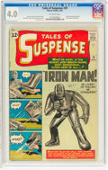Silver Age (1956-1969):Superhero, Tales of Suspense #39 (Marvel, 1963) CGC VG 4.0 Off-white pages....