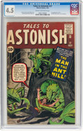 Silver Age (1956-1969):Superhero, Tales to Astonish #27 (Marvel, 1962) CGC VG+ 4.5 Cream to off-whitepages....
