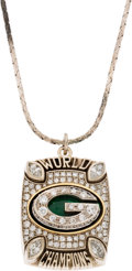 Football Collectibles:Others, 2010 Green Bay Packers Super Bowl XLV Pendant....