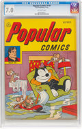 Golden Age (1938-1955):Humor, Popular Comics #141 (Dell, 1947) CGC FN/VF 7.0 Off-white pages....