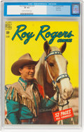 Golden Age (1938-1955):Western, Roy Rogers Comics #30 Hawkeye Pedigree (Dell, 1950) CGC VF 8.0 Cream to off-white pages....