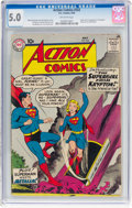 Silver Age (1956-1969):Superhero, Action Comics #252 (DC, 1959) CGC VG/FN 5.0 Off-white pages....